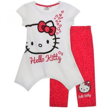 Set tunica si leggings Hello Kitty